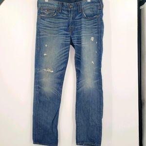 True Religion Geno Relaxed Slim Flap Pocket Jeans